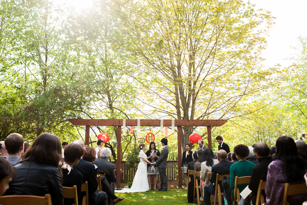 ceremony hall at Fauntleroy