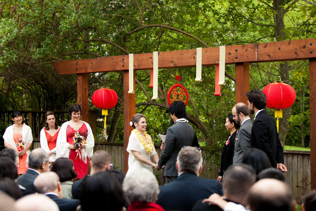 hall at fauntleroy ceremony