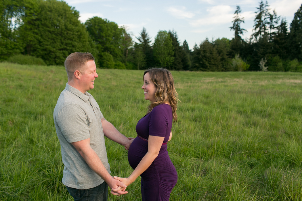 maternity session seattle