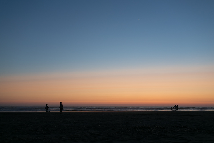 sunset in seaside oregon photography