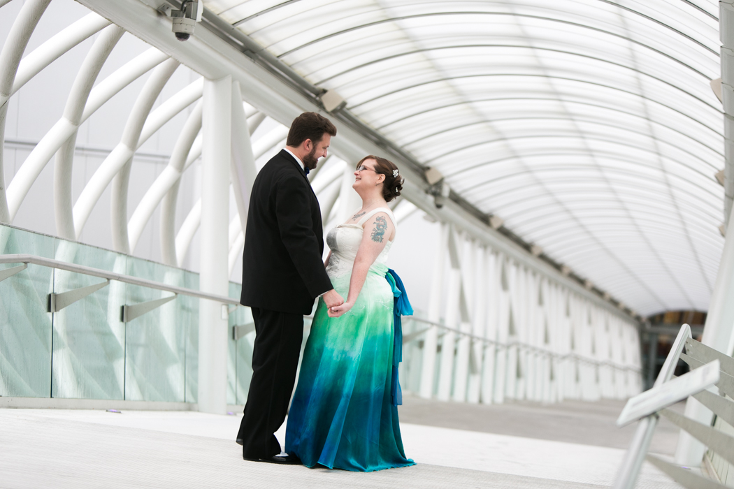 museum of flight wedding photographer