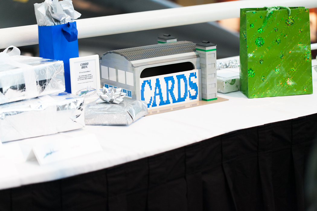 lego card table wedding