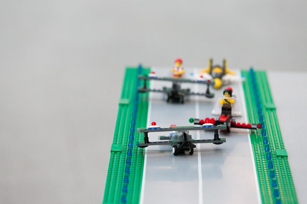 lego runway