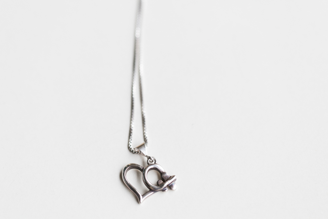 heart plane necklace jewelry photography