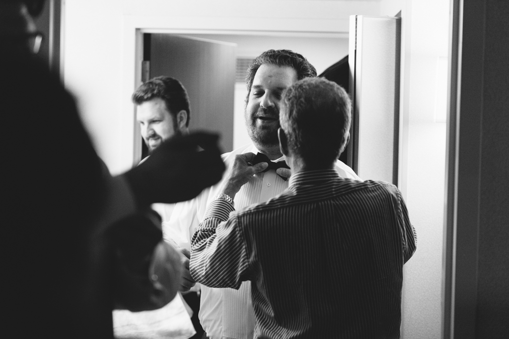groomsman getting ready photography