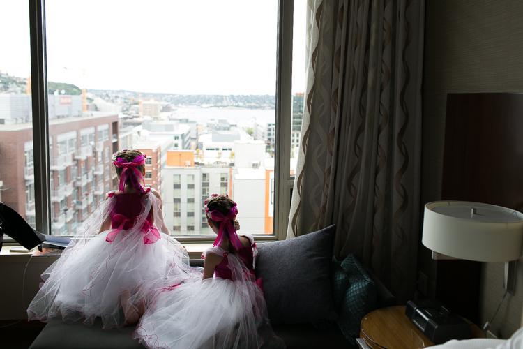 flower girls wedding photography