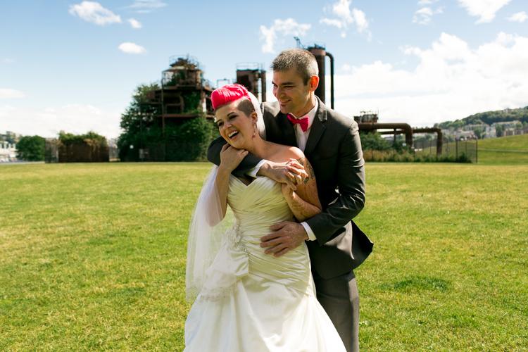 beautiful seattle wedding photography