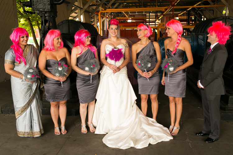 bridesmaids photography seattle