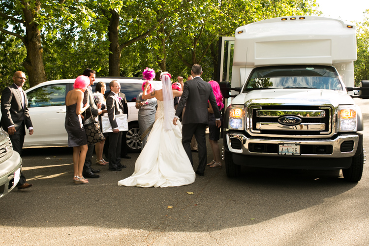 party bus seattle wedding