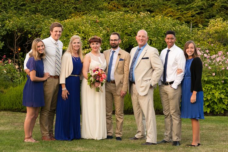 beautiful wedding family photography
