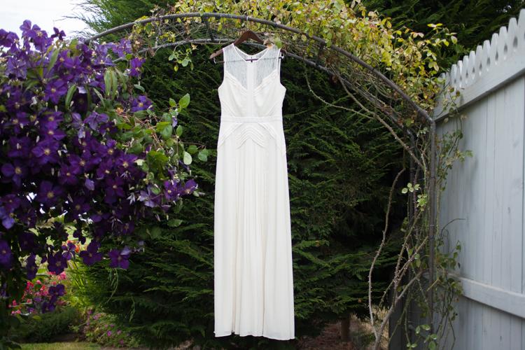 beautiful wedding dress bcbg