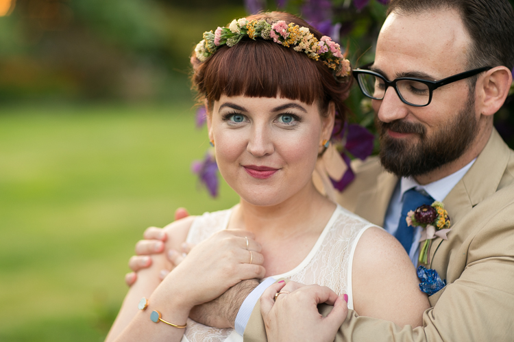 beautiful wedding portrait seattle