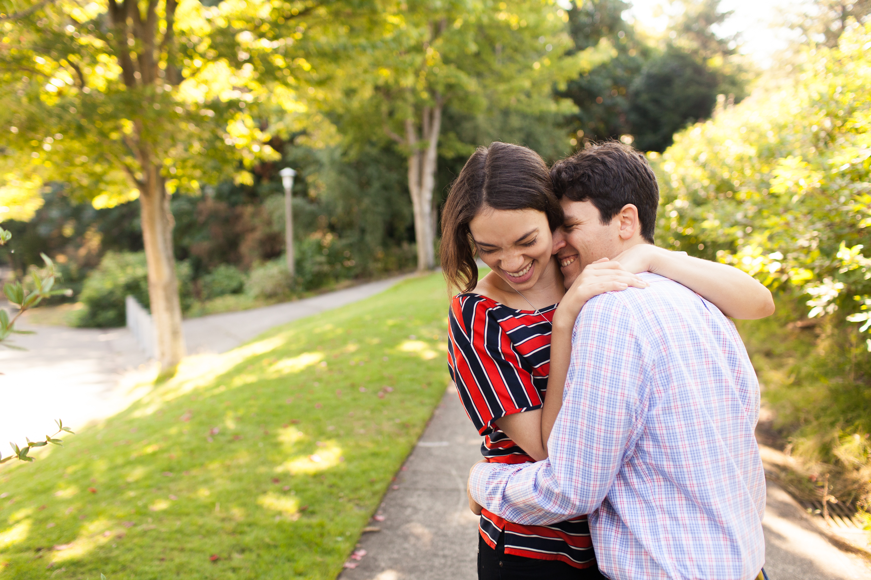 the ballard locks engagement session, seattle engagement session