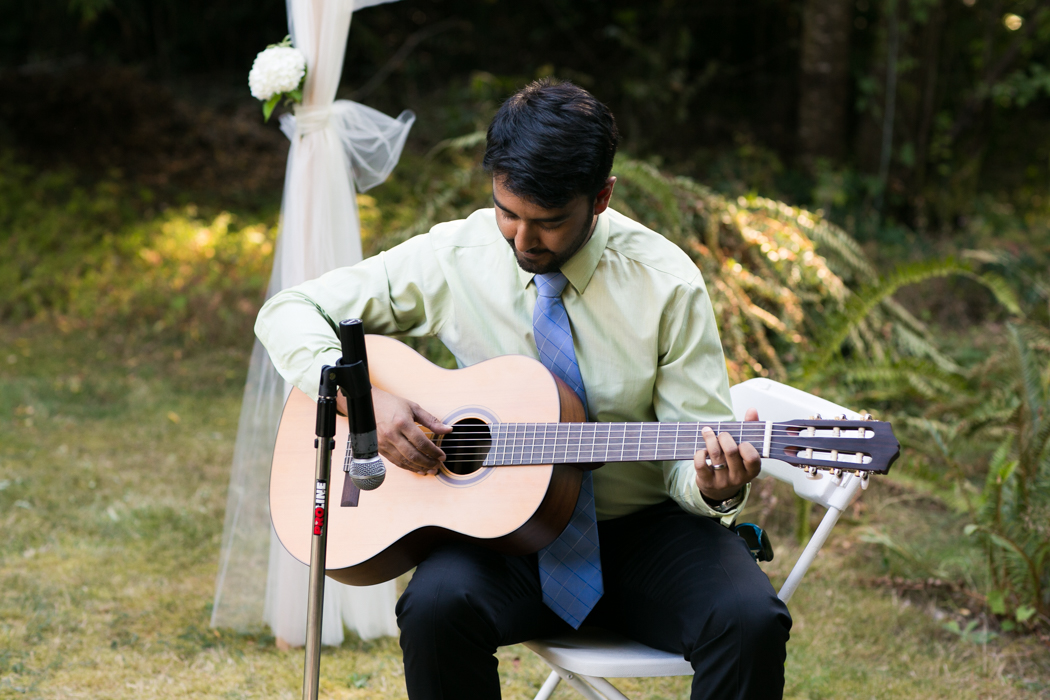 guitar wedding ceremony