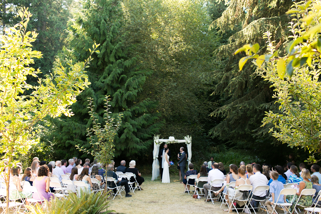 beautiful outdoor ceremony photography