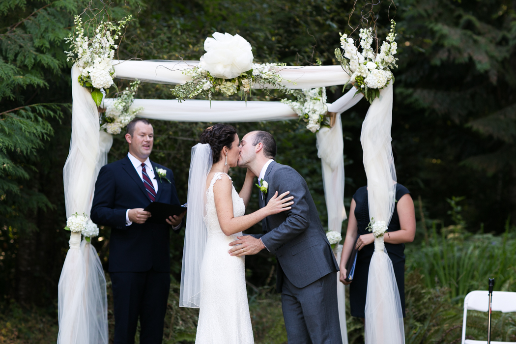 kiss ceremony wedding