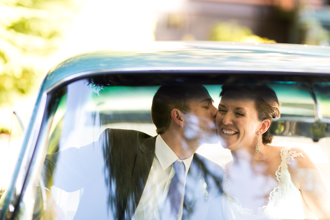 classic car photography wedding