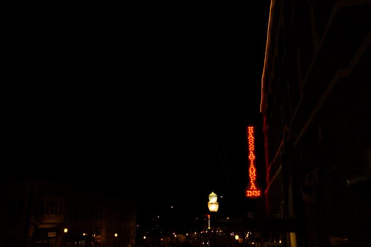 hassayampa at night