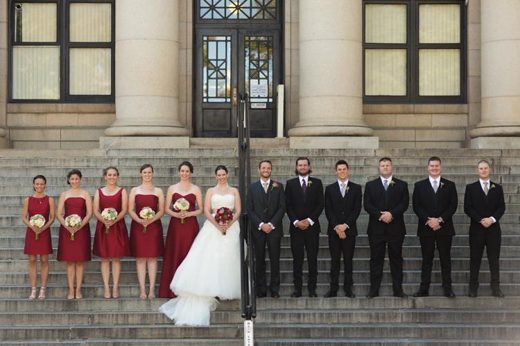 prescott wedding party photography