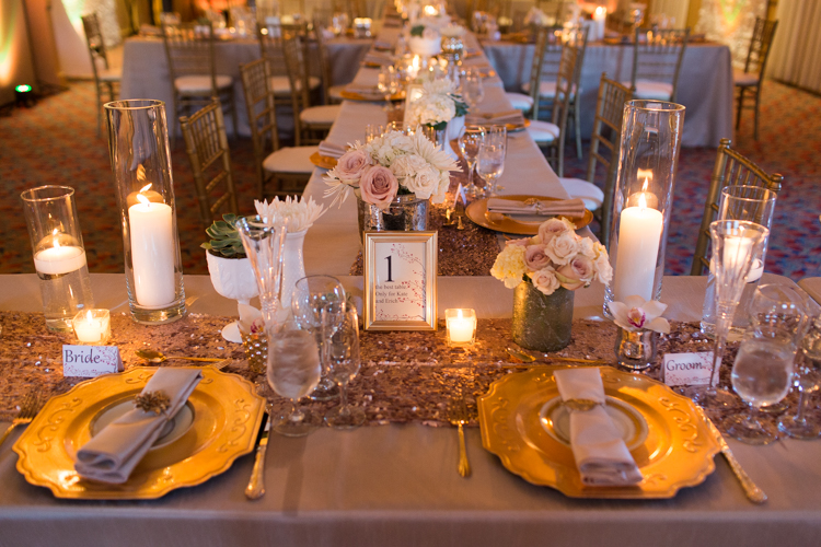 hassayampa reception, gold details reception