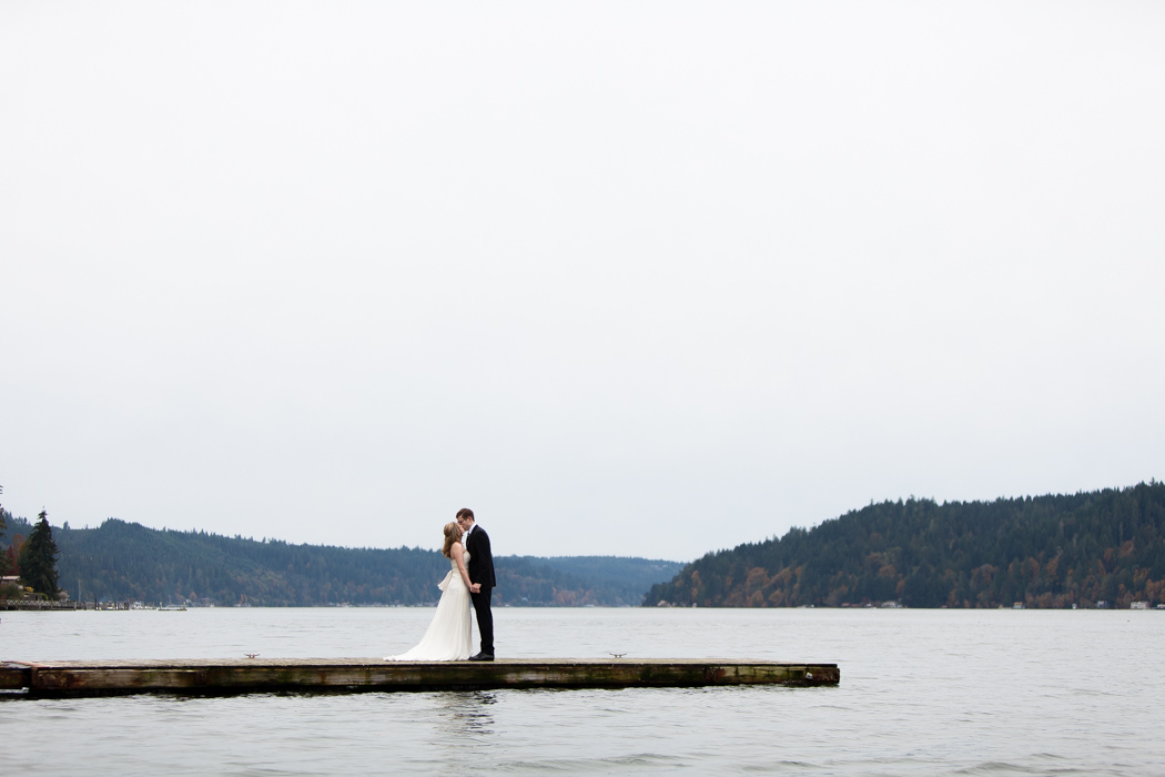 hood canal wedding, hood canal wedding photographer, elopement photographer seattle, JayLee Photography, first look wedding photography, dock first look, JayLee Photography