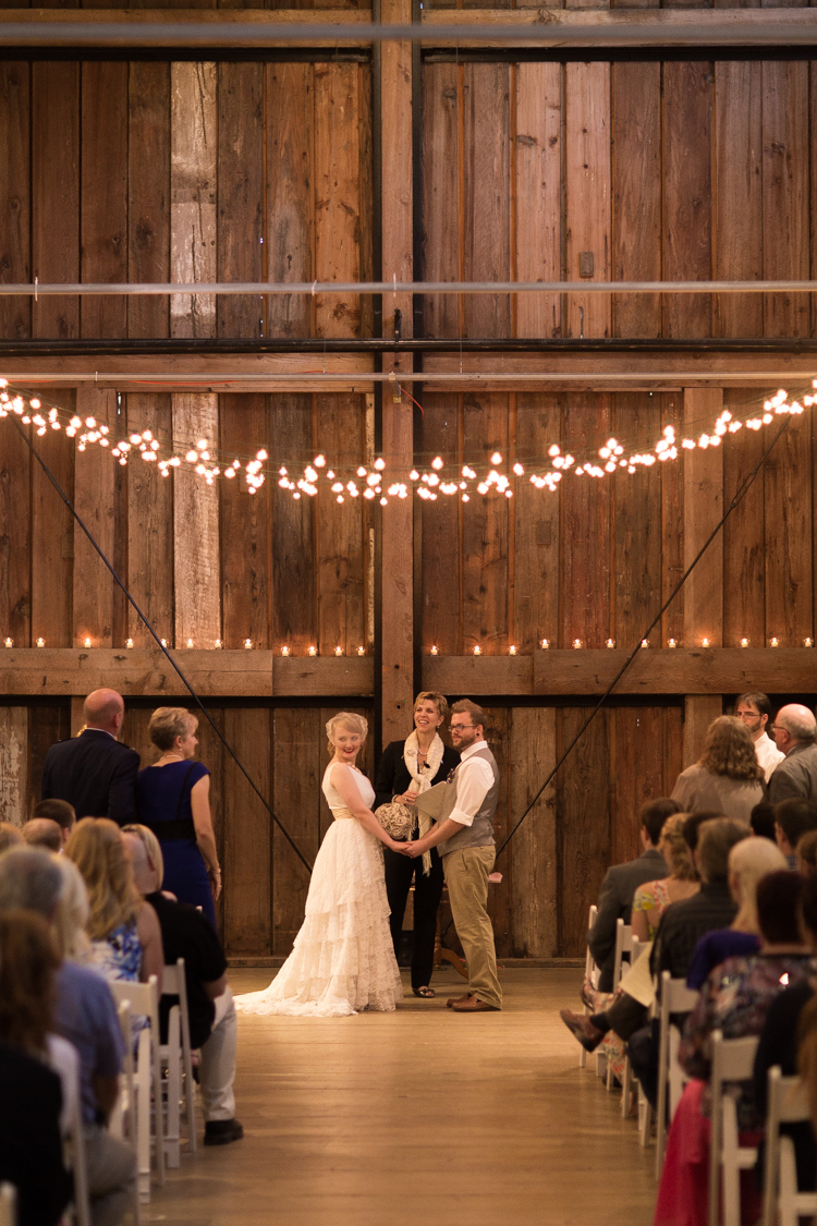 Wedding ceremony performed by Annemarie Juhlian