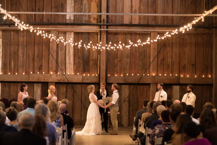 Wedding ceremony performed by marriedbyannemarie.com