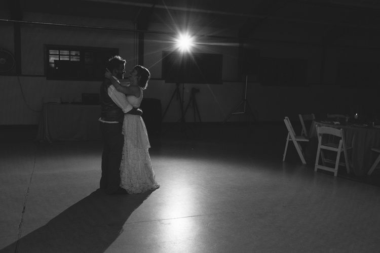 First Dance photo at wedding reception in issaquah.