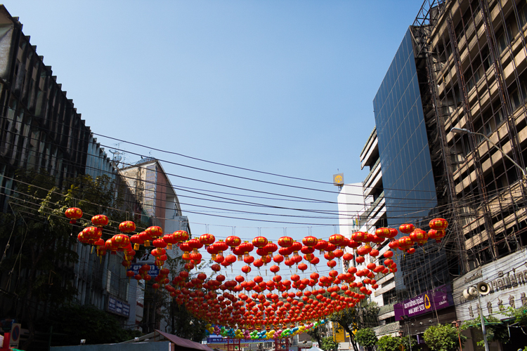 chinese new years in thailand