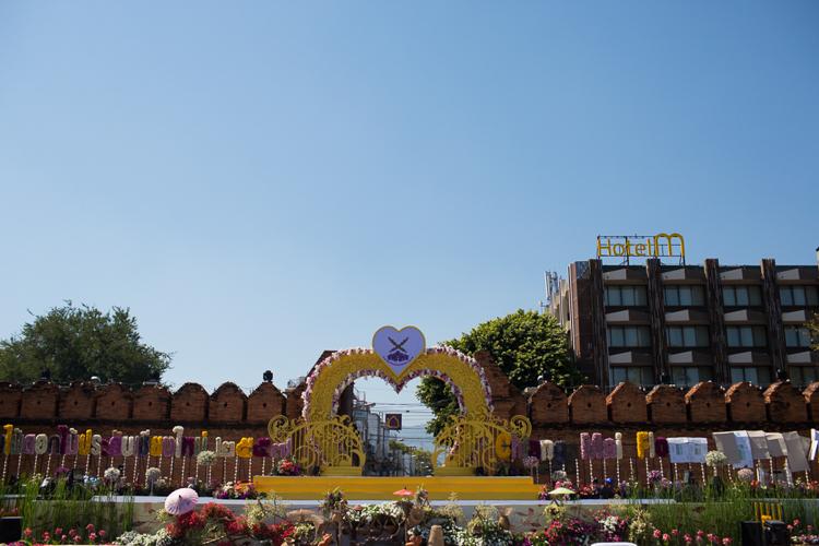 chaing mai flower festival 2014
