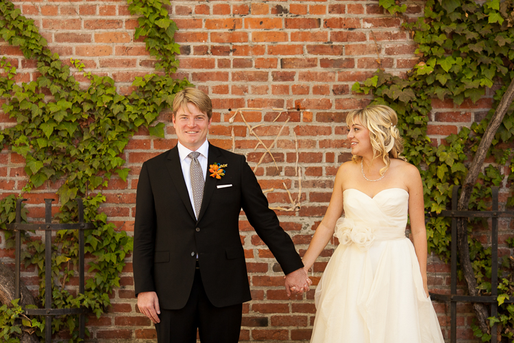 pioneer square modern wedding photography