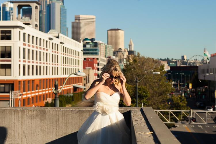 modern bride, Seattle bride