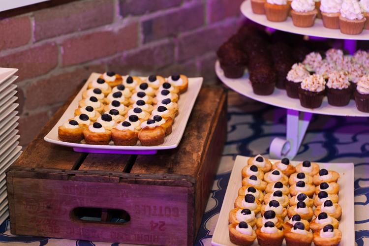 mini desserts wedding, duos catering