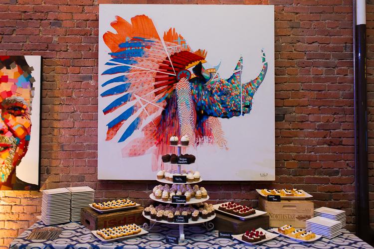 justin kane elder paintings, wedding cake table axis pioneer square