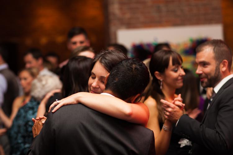 candid wedding dance