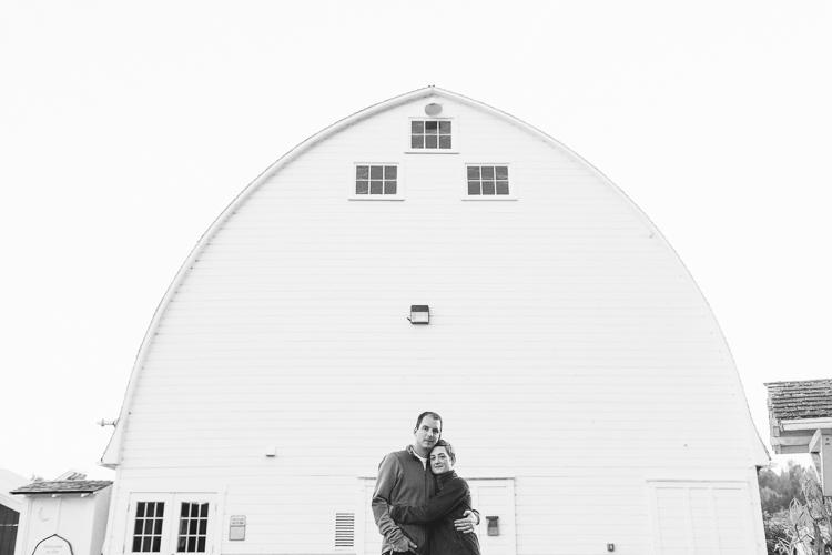 barnyard engagement session