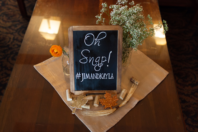 instagram chalk board wedding