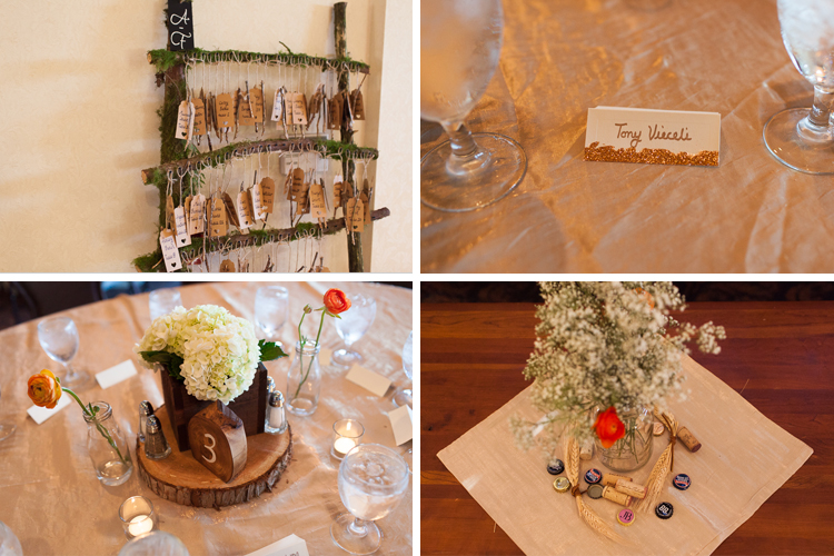 beautiful natural wedding details
