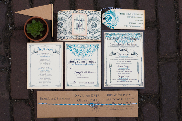 blue invitations seattle