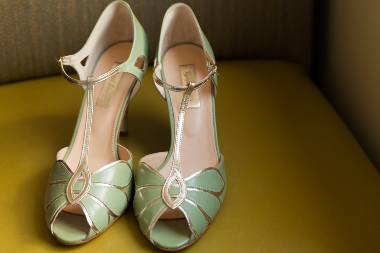 mint green heels