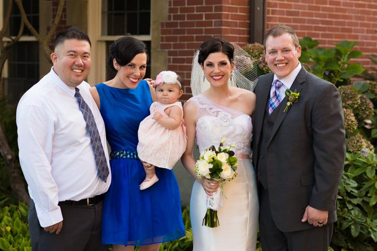 family photography wedding