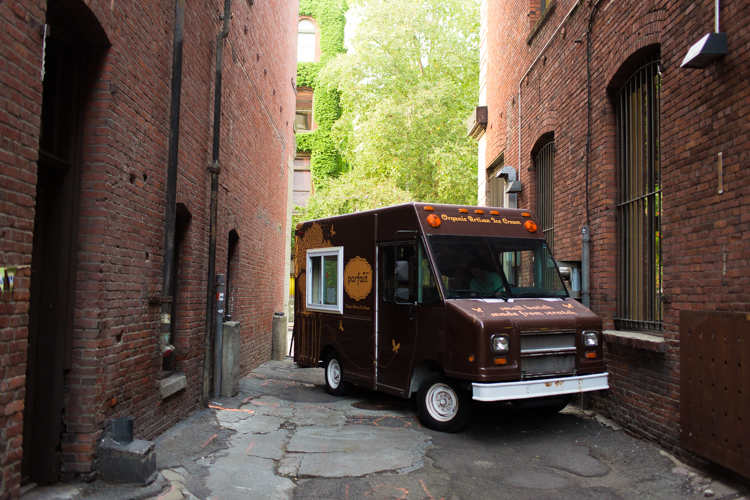 wedding ice cream truck
